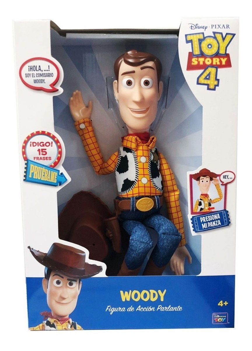 DISNEY TOY STORY WOODY PARLANTE HABLO 15 FRASES COD 64113