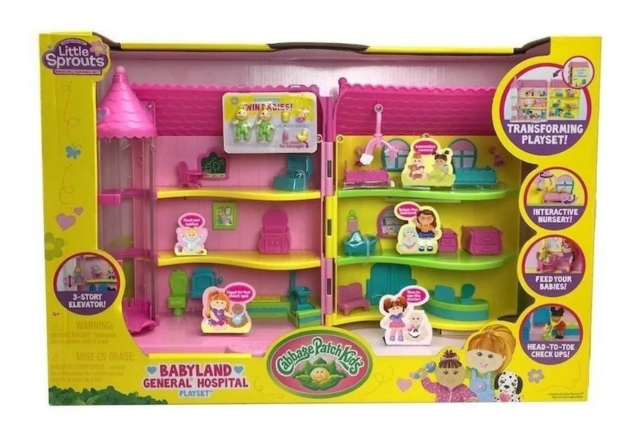 LITTLE SPROUTS PLAY SET HOSPITAL GENERAL COD 37307