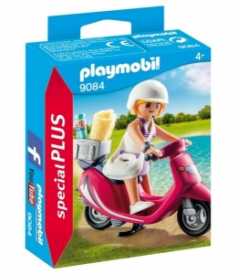 PLAYMOBIL MUJER CON SCOOTER COD 9084