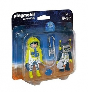 PLAYMOBIL DUO PACK ASTRONAUTA Y ROBOT COD 9492