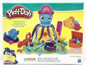 PLAY DOH SET MASA PULPO DIVERTIDOS TENTACULOS COD E0800