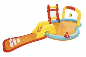 BESTAWAY CENTRO D JUEGO PILETA INFLABLE 435X213 CM COD 53068