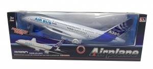AVION GRANDE AIR BUS A380 CON SONIDO COD 3800A