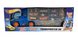 HOT WHEELS CAMION TRANSPORTADOR INCLUYE 6 AUTOS COD 42034
