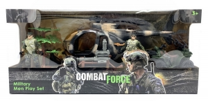PLAYSET COMBATE FORCE FIGURAS ARTICULADAS VEHICULO COD 99342