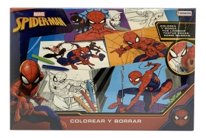 COLOREAR Y BORRAR SPIDERMAN COD VSP03206