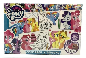 COLOREAR Y BORRAR MY LITTLE PONY COD HLP09300