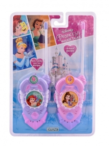 WALKIE TALKIE DSINEY PRINCESAS ANTENA FLEXIBLE COD 950