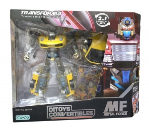 ROBOT METAL FORCE CONVERTIBLE DITOYS COD 1898