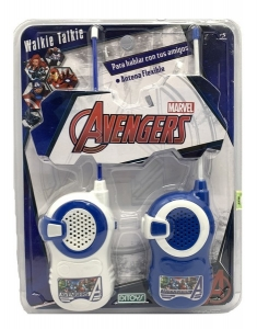 AVENGERS WALKIE TALKIE CON ANTENAS FLEXIBLES COD 2221