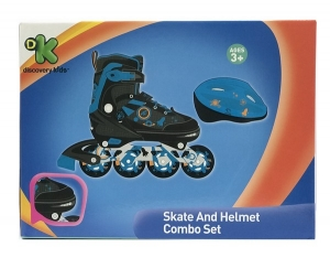 ROLLER CON CASCO DISCOVERY KIDS EXTENSIBLE 38 AL 41 COD 3324