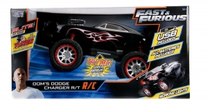 RAPIDO Y FURIOSO DOMS DODGE CHARGER R/C USB COD 97488