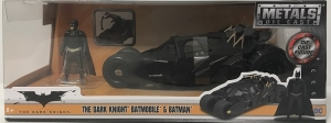 BATMAN THE DARK NIGHT BATIMOVIL 1:24 CON FIGURA COD 98261