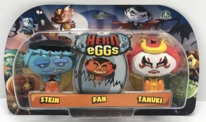 HERO EGGS BLISTER X 3 FIGURAS COLECCIONABLES COD 27302