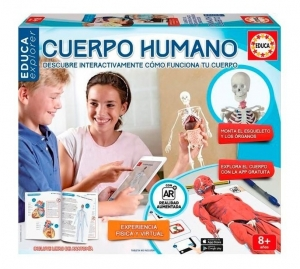 CUERPO HUMANO INTERACTIVO FISICO VIRTUAL EDUCA COD 16560