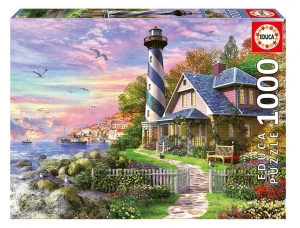 PUZZLE EDUCA X 1000 FARO EN ROCK BAY COD 17740