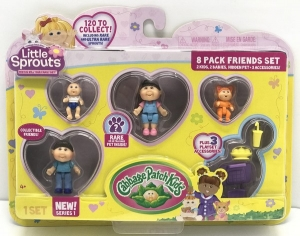 LITTLE SPROUTS SET BLISTER X 8 FIGURAS Y ACCESORIO COD 34544