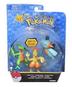 POKEMON ACTION BLISTER FIGURA X 3 COD T18524