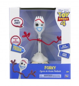 TOY STORY 4 FORKY CUBIERTO 15 FRASES Y CANCIONES COD 64460