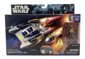 STAR WARS REBELS VEHICULO CON FIGURA COD B3675