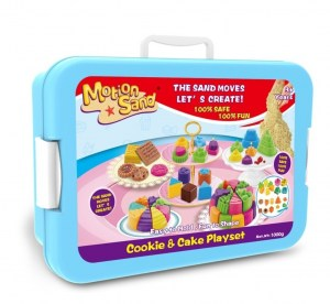 PLAYSET ARENA MAGICA COOKIE Y CAKE MOTION SAND COD MS12T