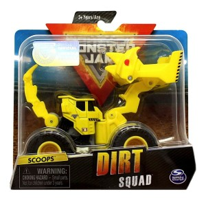 MONSTER JAM VEHICULO DIRT SQUAD BLISTER COD 58732