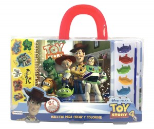 MALETIN CREAR Y COLOREAR TOY STORY 4 COD 07935