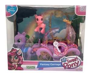 THE SWEET PONY CARRUAJE DE FANTAS?A CON SONIDO COD 2232