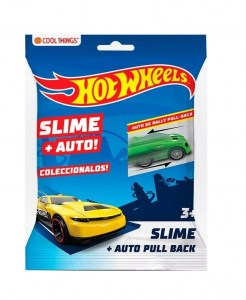 HOT WHEELS AUTO RALLY PULL BACK MAS SLIME COD 5991