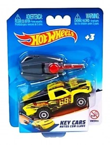 HOT WHEELS KEY CARS AUTOS CON LLAVE PLEGABLE COD HW999