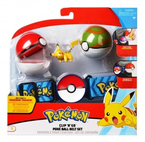POKEMON CINTURON POKEBALL POKEBOLA ORIGINAL TOMY COD 97007